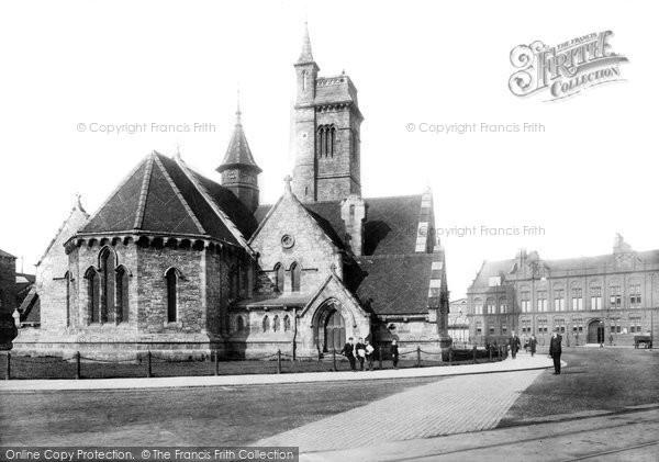 Photo of West Hartlepool, Christ Church 1903