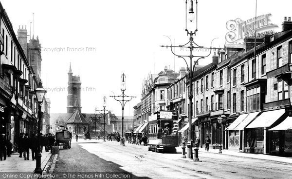 Photo of West Hartlepool, Church Street 1901