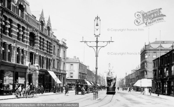 Photo of West Hartlepool, Church Street 1901