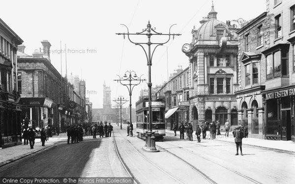 Photo of West Hartlepool, Church Street 1914, ref. 67101