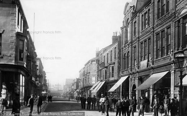 Photo of West Hartlepool, Lynn Street 1896