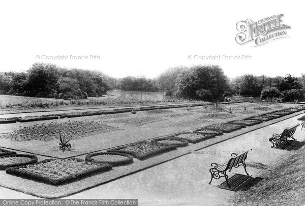 Photo of West Hartlepool, Park 1901