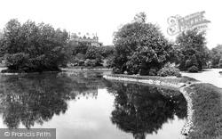 Park Lake 1901, West Hartlepool
