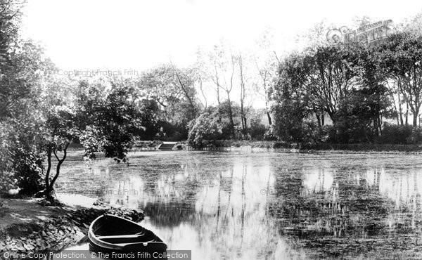 Photo of West Hartlepool, Park Lake 1901
