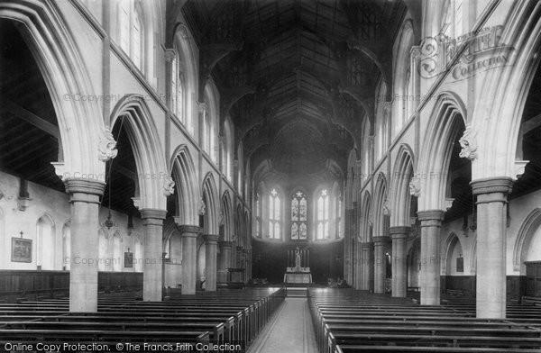 Photo of West Hartlepool, Roman Catholic Churchinterior 1899, ref. 44748