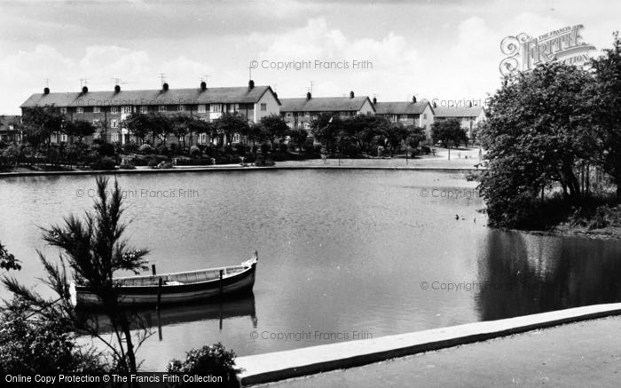Photo of West Hartlepool, Rossmere Park c.1960
