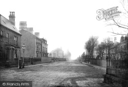 West Hartlepool, St Paul's Church And Grange Road 1886