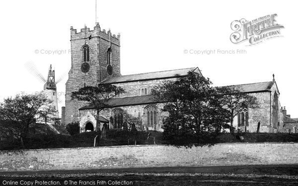 Photo of West Hartlepool, Stranton Church 1886