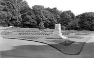 West Hartlepool, Terraces, Ward Jackson Park c1955