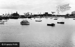 West Hartlepool, The Harbour c.1960