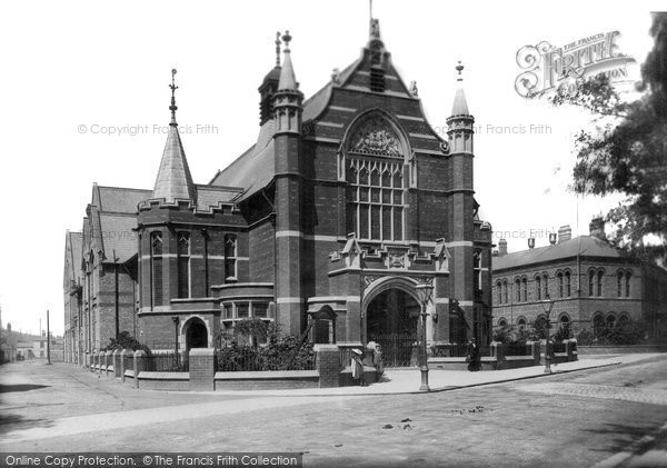 Photo of West Hartlepool, Town Hall 1901