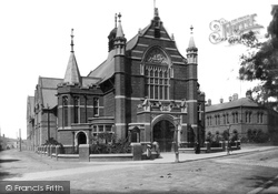 West Hartlepool, Town Hall 1901