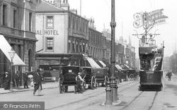 Tram, Church Street 1901, West Hartlepool