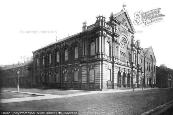 Photo of West Hartlepool, United Methodist Free Church 1886