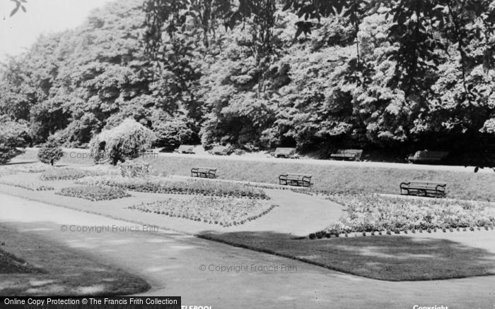 Photo of West Hartlepool, Ward Jackson Park c.1955