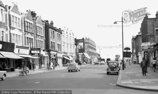 Photo of West Hendon, The Broadway c.1965