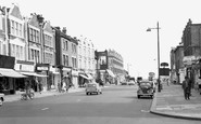 West Hendon, the Broadway c1965
