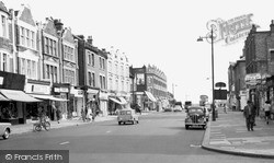 West Hendon, The Broadway c.1965