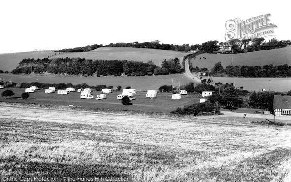 Photo of West Hougham, The Plough Caravan Park c.1965