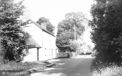 West Huntspill, Church Road c.1955