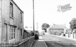 West Huntspill, High Road c.1955