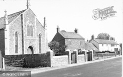 West Huntspill, Main Road c.1955