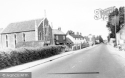 West Huntspill, Main Road c.1960