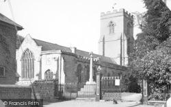 West Huntspill, St Peter's Church c.1955