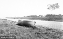 West Huntspill, The Canal c.1955