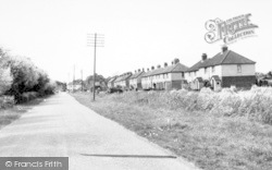 West Huntspill, Withy Road c.1955