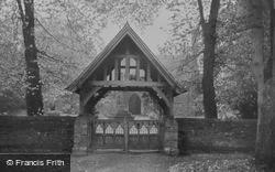 West Ilsley, Church Gates c.1950