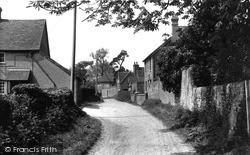 West Ilsley, Church Way c.1955