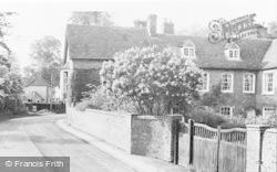 West Ilsley, High Street, West Ilsley House c.1955
