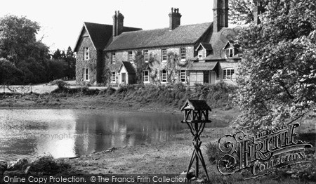 West Ilsley, Hodcott House c.1955