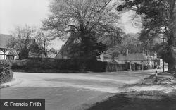 West Ilsley, The Cross Roads c.1955