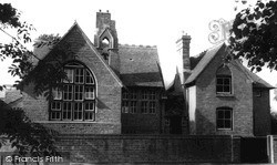 West Ilsley, The Old School c.1955