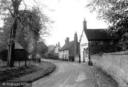 West Ilsley, The Village c.1950