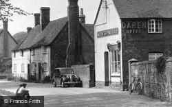 West Ilsley, The Village Shop c.1955