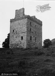 Law Castle 1951, West Kilbride