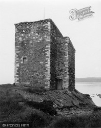 Portencross Castle 1951, West Kilbride