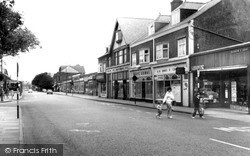 West Kirby, Banks Road c.1965