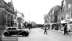 West Kirby, Grange Road c.1955