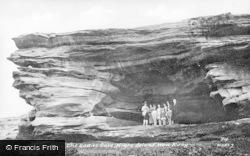 West Kirby, Ladies' Cave, Hibre Island c.1939