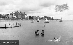 West Kirby, Marine Lake c.1960