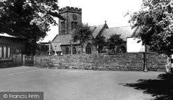 West Kirby, St Bridget's Church c.1955