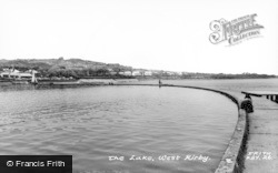 West Kirby, The Lake c.1960