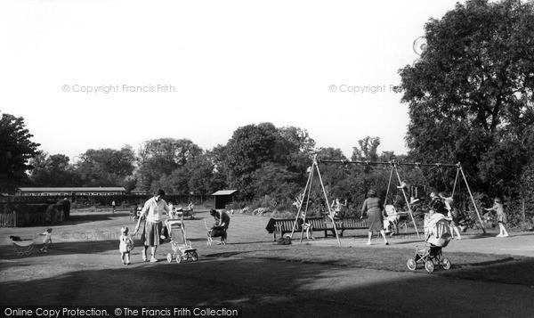 Photo of West Knighton, Recreation Ground c.1965