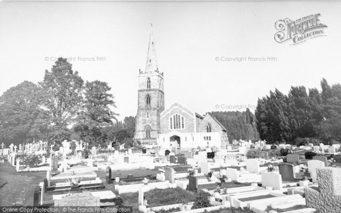 Photo of West Knighton, St Mary Magdalene's Church c.1965