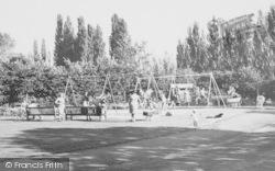 The Children's Play Ground c.1965, West Knighton