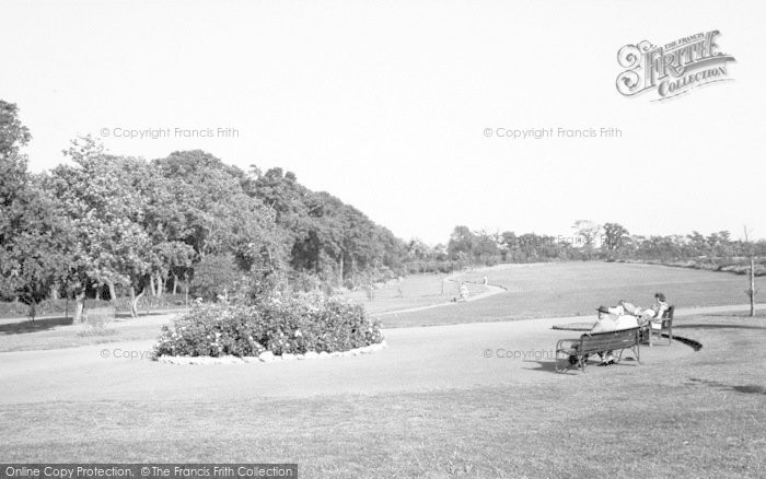 Photo of West Knighton, The Park c.1965